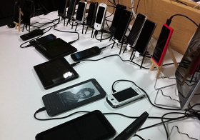 different mobile devices
